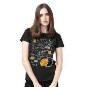 Camiseta Feminina Gudetama Makes