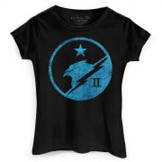Camiseta Feminina Halo Blue Team