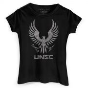 Camiseta Feminina Halo UNSC Logo
