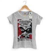 Camiseta Feminina Harley Quinn You´re The Problem