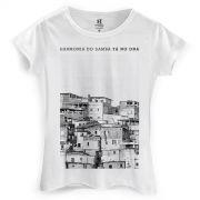 Camiseta Feminina Harmonia do Samba Tá no DNA
