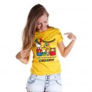 Camiseta Feminina Hello Kitty Birthday Party