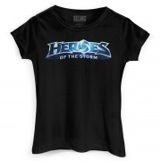 Camiseta Feminina Heroes Of The Storm Logo