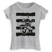 Camiseta Feminina João Rock Drummer