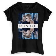 Camiseta Feminina Justin Bieber Double Bieber