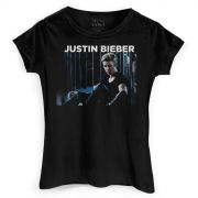 Camiseta Feminina Justin Bieber Mirrors Photo