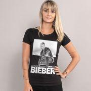 Camiseta Feminina Justin Bieber Negative