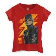 Camiseta Feminina Liga da Justiça The Flash