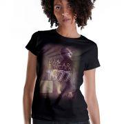 Camiseta Feminina Luan Santana 1977 Dia, Lugar e Hora Screen