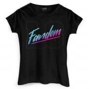 Camiseta Feminina Luan Santana Fandom