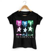 Camiseta Feminina Madonna Gmayl Single