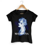 Camiseta Feminina Madonna True Blue