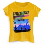 Camiseta Feminina Os Paralamas do Sucesso Sinais do Sim Take Rio