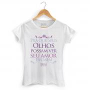 Camiseta Feminina Paula Fernandes Type