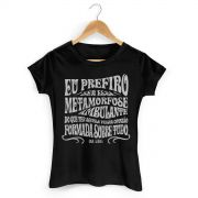 Camiseta Feminina Raul Seixas Metamorfose Ambulante