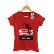 Camiseta Feminina Superman The Man Of Steel