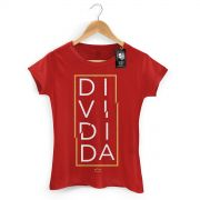 Camiseta Feminina Thiaguinho Dividida