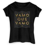Camiseta Feminina Thiaguinho #VamoQVamo