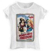 Camiseta Feminina Women Unite for Freedom