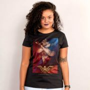 Camiseta Feminina Wonder Woman Power