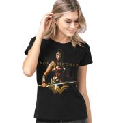 Camiseta Feminina Wonder Woman Warrior For a Peace