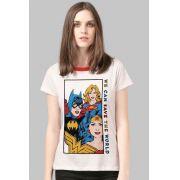 Camiseta Feminina Wonder Woman We Can Save the World