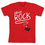 Camiseta Infantil 89 FM A Rádio Rock Love Rock