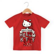 Camiseta Infantil Hello Kitty Arigato Everyone 2