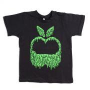Camiseta Infantil Monstra Maçã Slime