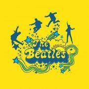 Camiseta Infantil The Beatles Love