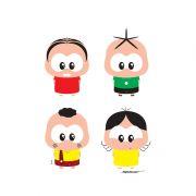 Camiseta Infantil Turma da Mônica Toy A Turma Toy