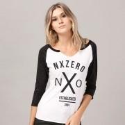 Camiseta Manga Longa Feminina NXZero Established