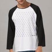 Camiseta Manga Longa Raglan Masculina Fresno Âncoras