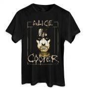 Camiseta Masculina Alice Cooper Photo