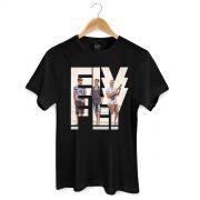 Camiseta Masculina Banda Fly Logo Foto