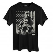 Camiseta Masculina Batman Flag