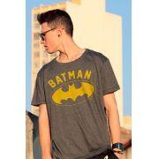 Camiseta Masculina Batman Logo Yellow