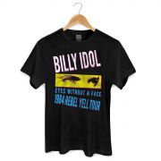 Camiseta Masculina Billy Idol Eyes Without a Face.