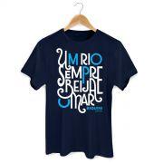 Camiseta Masculina Biquini Cavadão Rio e Mar