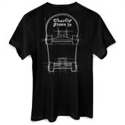 Camiseta Masculina Charlie Brown Jr. Skate
