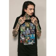 Camiseta Masculina DC Comics Villains