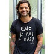 Camiseta Masculina Emo & Pai e Daí?
