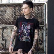 Camiseta Masculina Esquadrão Suicida Cast