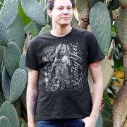 Camiseta Masculina Esquadrão Suicida Harley Quinn Luck You