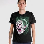 Camiseta Masculina Esquadrão Suicida The Joker Prince of Crime
