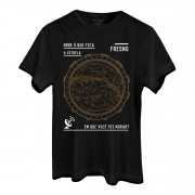Camiseta Masculina Fresno Mapa Estelar