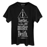 Camiseta Masculina Harry Potter The Deathly Hallows