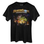Camiseta Masculina Hearthstone Poster