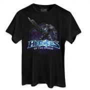 Camiseta Masculina Heroes Of The Storm Raynor