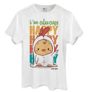 Camiseta Masculina Jaime I´m Always Happy